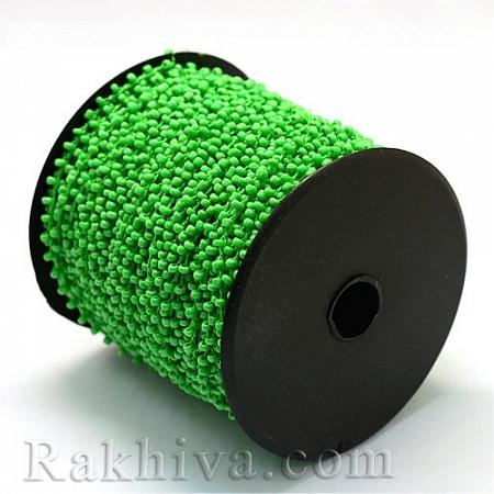 Мъниста, наниз, 3м, зелено (OCOR-R039-A02)