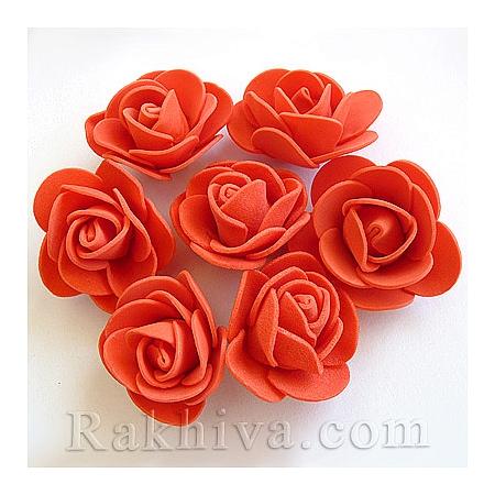 Силиконови розички, червено  (3,5 см/ 10 бр.)
