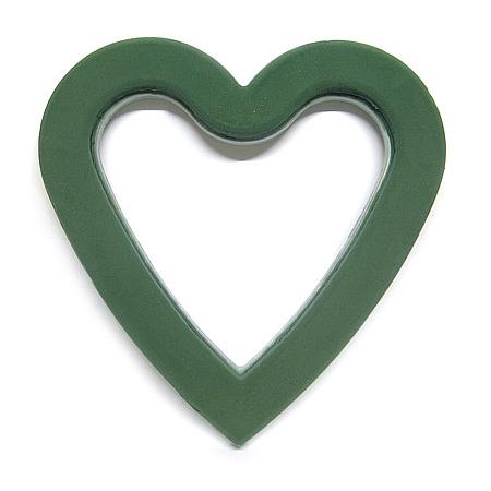 Пиафлора Сърце отворено, фоам, гъба за цветя OASIS, сърце отворено (37,5/38/4,5)