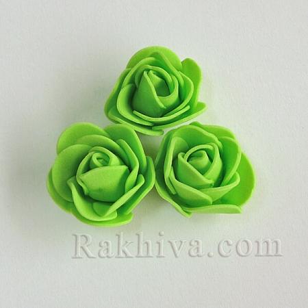 Силиконови розички , резеда (3,5 см/ 10 бр.)