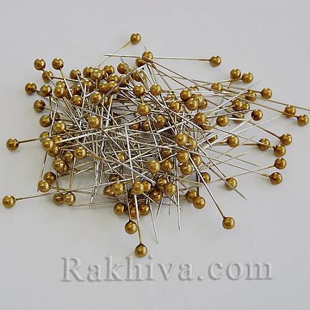 Игли с перли OASIS, злато, 1 кутия злато (144 бр.)