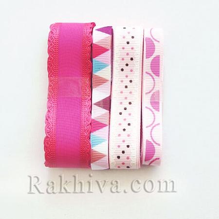Крафт комплект - розова гама