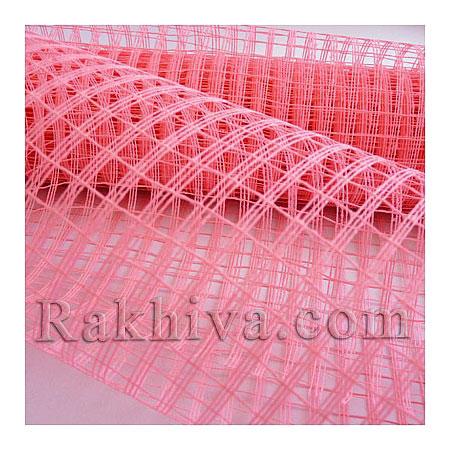 Мрежа за декорация  Ракхива цвят розово, 50см/5ярда (розово)