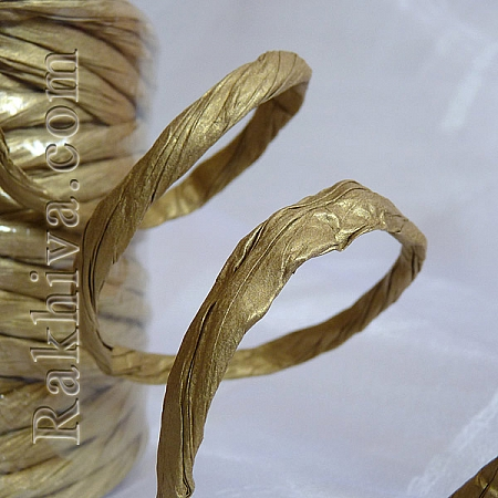 Хартиен шнур  Туист, злато, 11.25 м (11/12/63200)