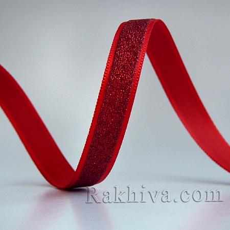 Луксозни панделки, 3m; червено (10/3/SRIB-R012-1.0cm-08)