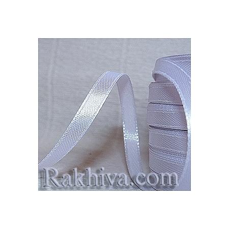 Панделка сатен - бяло, 3 мм/ 18 метра 100/(3/18/2310), без шпула