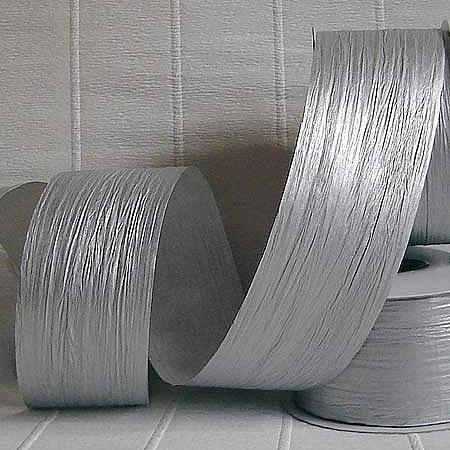 Хартиена панделка, сребро(55/25/66300)