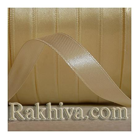 Панделка сатен - натурално, 3 мм/ 20 метра 108/(3/20/2330), без шпула