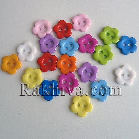 Копченца за украса, за декорация, за дрехи, микс (22мм/ 20 бр.) NNA0VCX