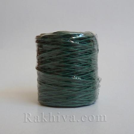 Хартиен шнур, тъмно зелено (1/25/6465) ролка 22,50м