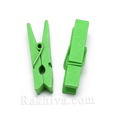 Дървени щипки, резеда, дървени щипки резеда 35/7мм (10бр.) WOOD-R249-013F