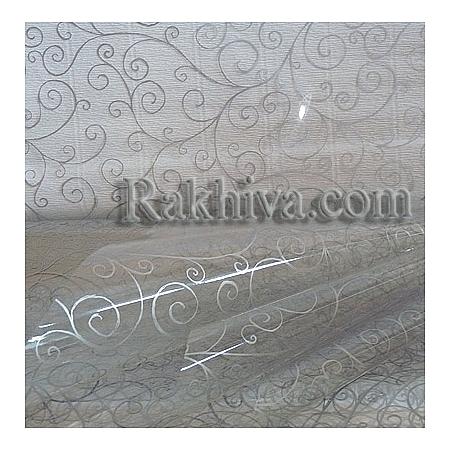 Целофан за цветя, Спирали/ сребро (50/50/213300)