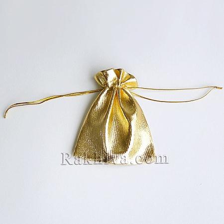 Торбички за бижута злато, 10 см/12 см, (10/12/83200)