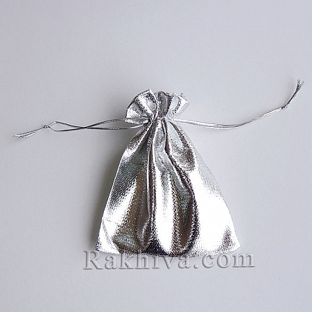 Торбички за бижута сребро, 10см / 12см, (10/12/83300)