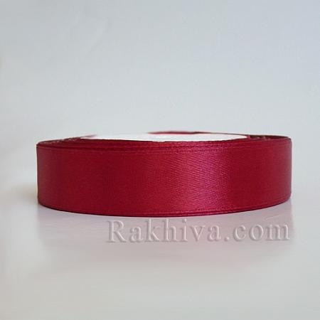 Панделка сатен - тъмно червено 1