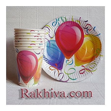 Хартиени чашки за парти Време за парти, чашки за парти/ 8 бр. (623400)