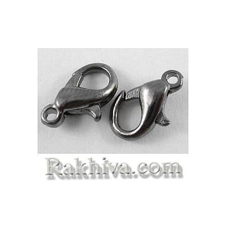 Метална закопчалка - цвят черно, черно (20 бр.) E103-B