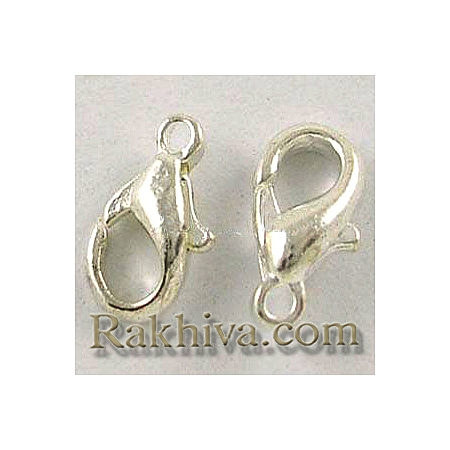 Метална закопчалка - цвят платина, цвят платина (20 бр.) E103-P-NF