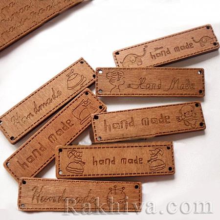 Дървени фигурки Handmade, кафяво, 64/17/4мм Handmade (NNA0Z7J)