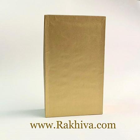 Кутия за подарък, правоъгълник Цвят злато, П1(12cm/7cm/ h=4cm)