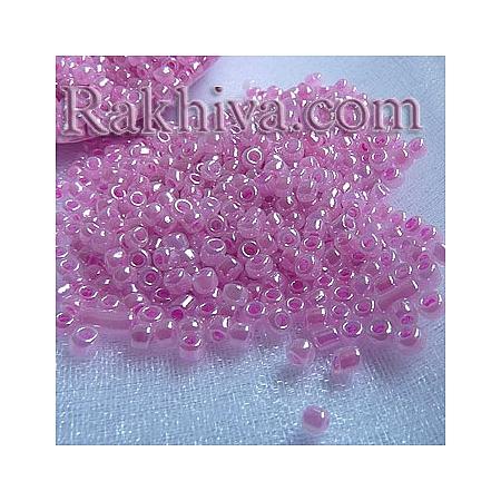 Мъниста , розово - лилаво 50гр. (A011-2mm-151 )