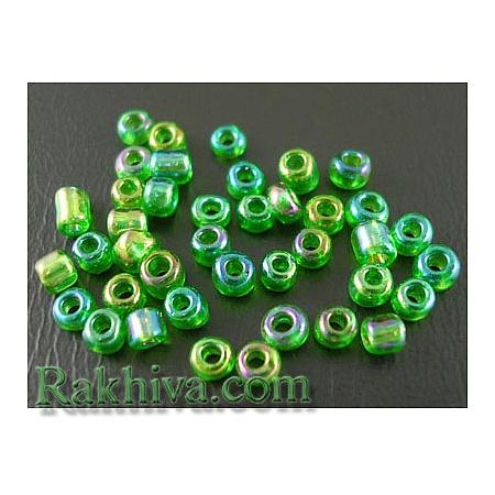 Мъниста , зелено 2мм/ 50гр. (SDB167B/ SDB167)