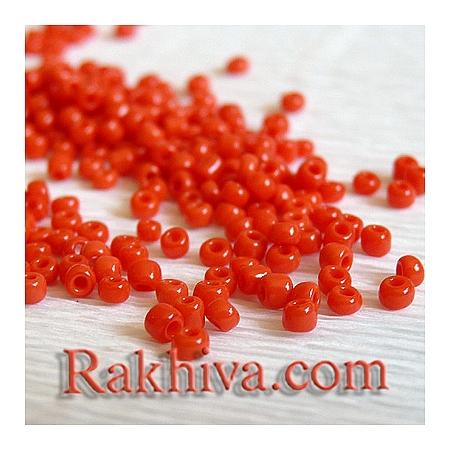 Мъниста, червено 50гр. (A010-2mm-45)