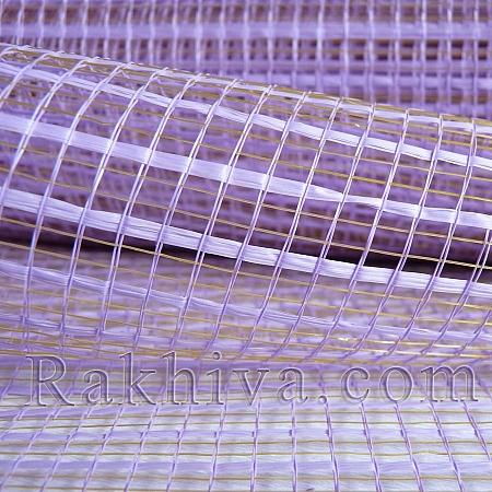 Двуцветна мрежа за цветя Фантазия (Корея) цвят светло  лилаво, светло лила (9 ярда) (44/90)