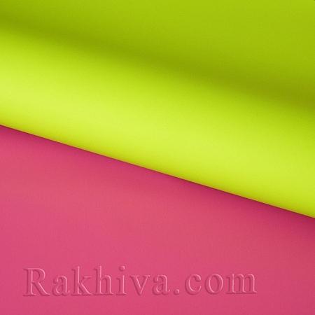 Италиански целофан Двуцветни (резеда и циклама), 100 см х 100 см (листи) (100/100/3/61-45)