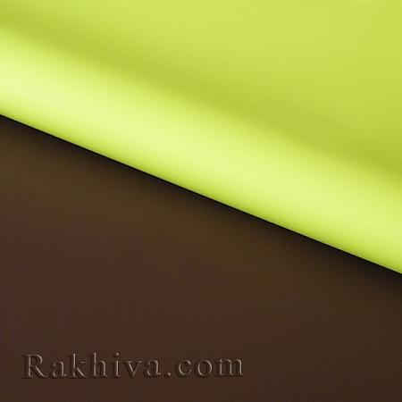 Италиански целофан Двуцветни (резеда и тъмен шоколад), 100 см х 100 см (листи) (100/100/3/61-34)