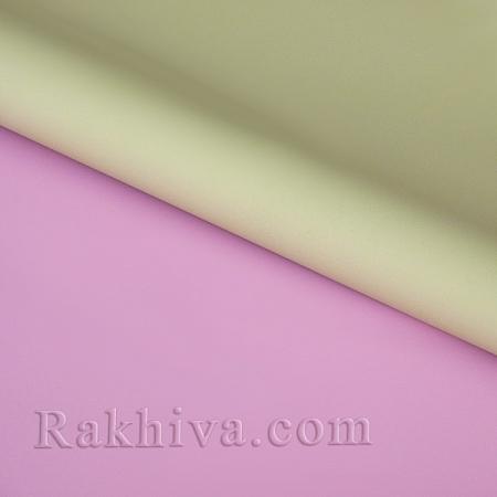 Италиански целофан Двуцветни (розово, крем), 100 см х 100 см (листи) (100/100/3/40-12)