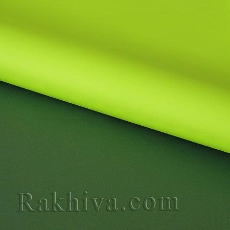 Италиански целофан Двуцветни (резеда, зелено), 100 см х 100 см (листи) (100/100/3/61-65)