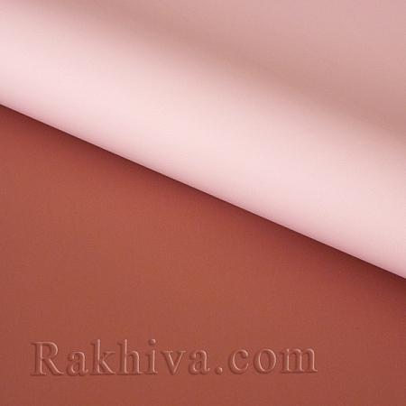 Италиански целофан Двуцветни (розово и шоколад), 100 см х 100 см (листи) (100/100/3/34-40)