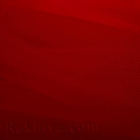 Тюл на ролка цвят бордо