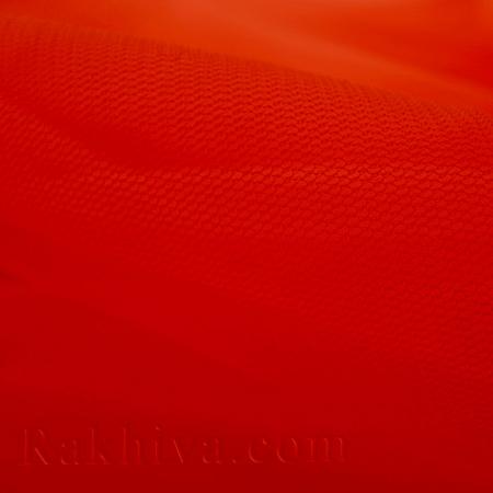 Тюл на ролка цвят червено, червено (87/80)