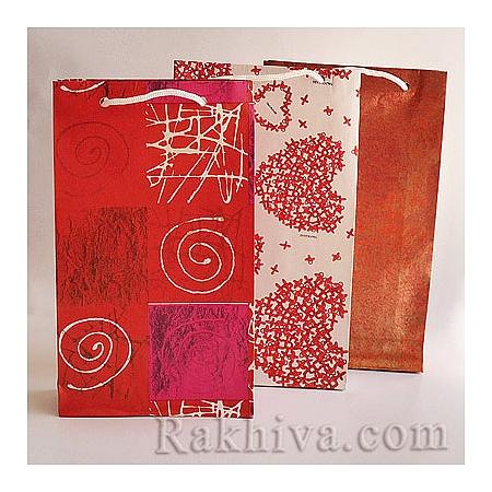 Хартиени торбички (цветни), цветя,мъжко (малки)