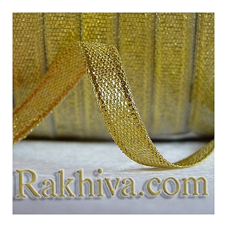 Сатен злато, 3 мм/ 20 метра (3/20/23200), без шпула