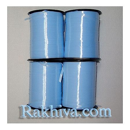 Тънки панделки за балони, 1 ролка 0.5см/ 500ярда 5/500/2852 (св. синьо)