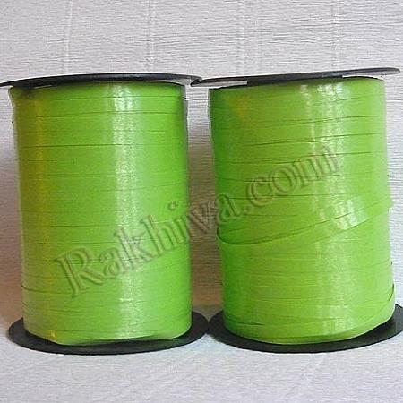 Тънки панделки за балони, 1 ролка 0.5см/ 500ярда 5/500/2861 (резеда)