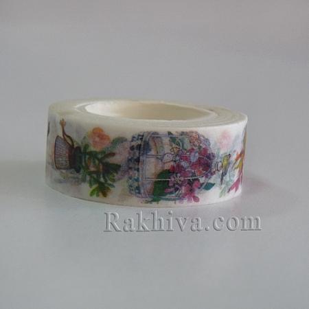 Декоративно тиксо, Градина (DIY-K001-C-14)