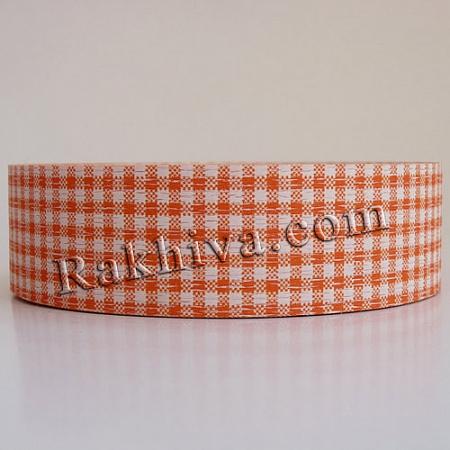 Панделка пастел каре - Гърция, каре оранжево (3/75/3075)