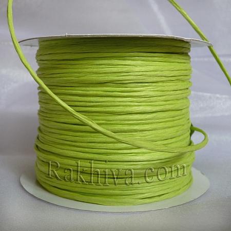 Хартиен шнур с тел, резеда (2/25/6161) ролка 22,50m