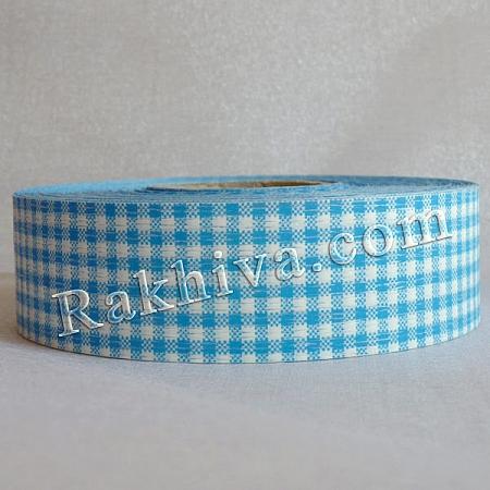 Панделка пастел каре - Гърция, каре синьо (3/75/3051)