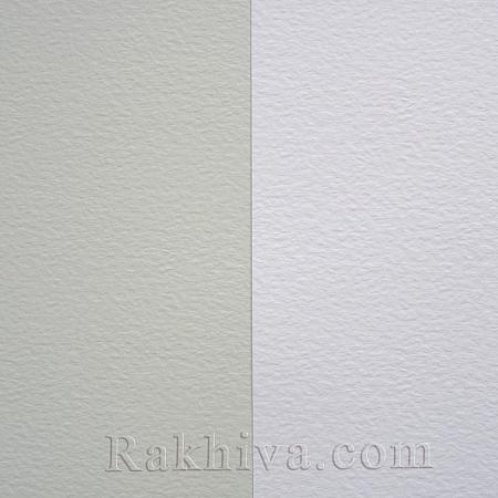 Релефен картон за картички, покани, за училище, бяло (1бр. А4) Hamer