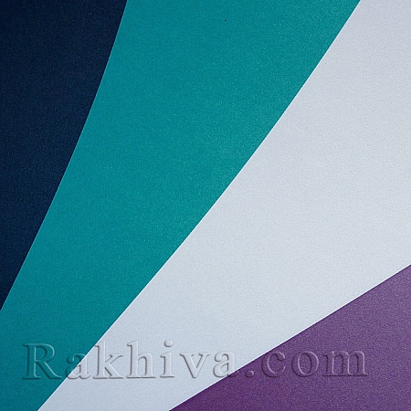 Перлен картон за картички, покани, за училище, бяло (1бр. А4, Gin Fizz)