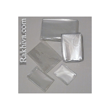 Целофанови пликове за пакетиране, 5 см/ 25 см (200 бр.)
