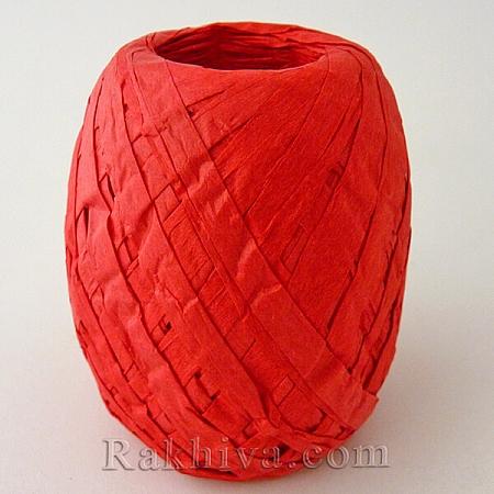 Хартиена рафия, червено (20/50/6280)