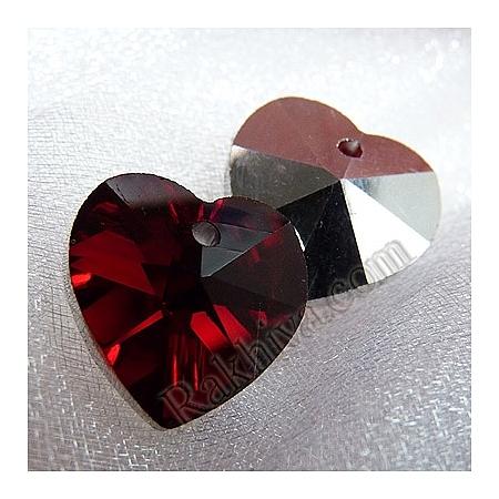 Ръчно изработени червени сърца, червено сърце (GH14mm47Y-S)