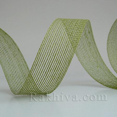Тъкана хартиена панделка, грахово (30/15/2462)