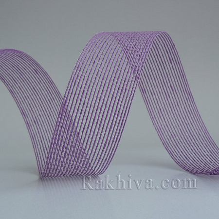 Тъкана хартиена панделка, лилаво (30/15/2490)